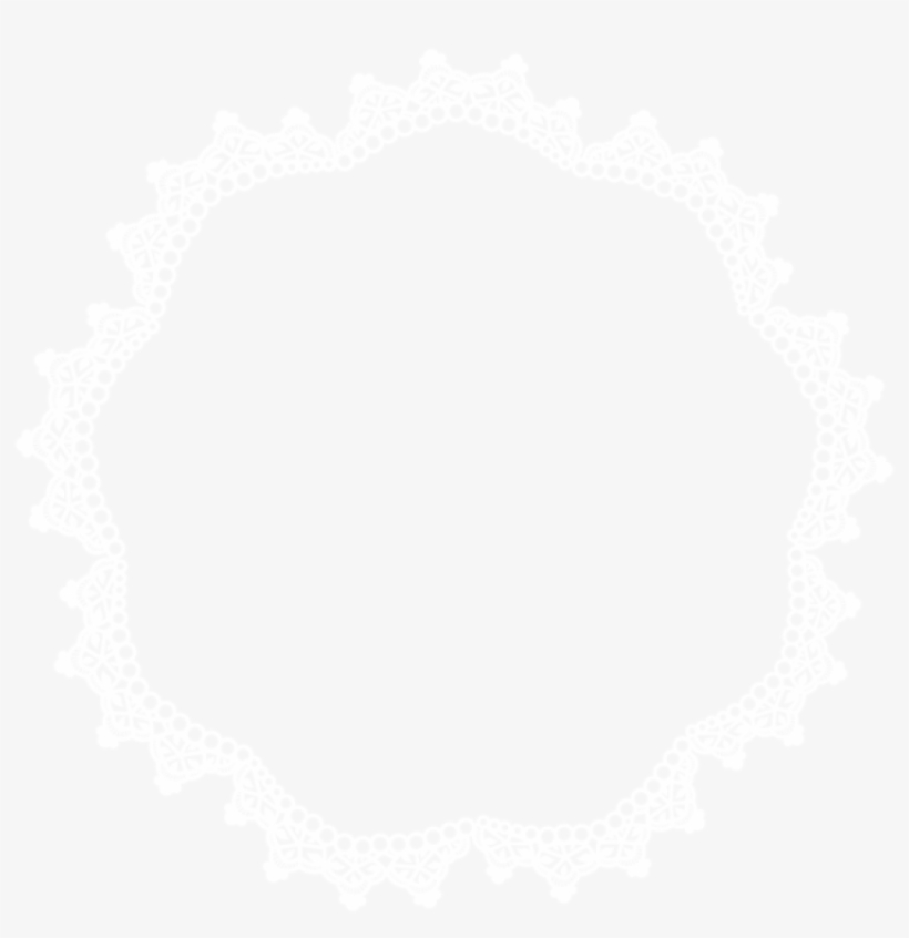 Free Png Round Lace Border Frame Png Png Images Transparent - Lace Border Circle Png, transparent png #5182292