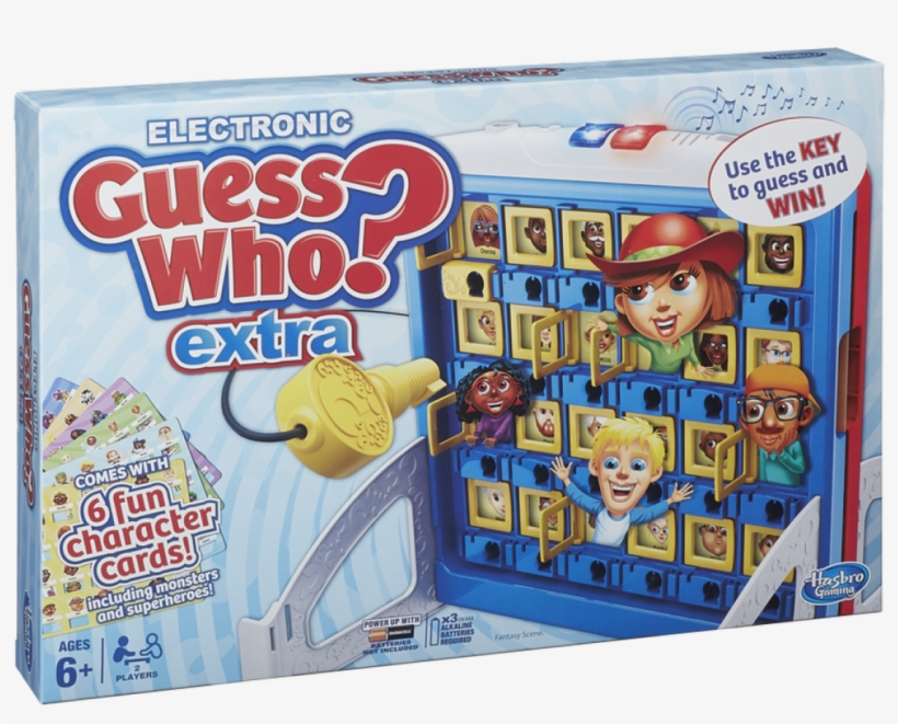 Electronic Guess Who Extra - Guess Who Extra From Hasbro Gaming., transparent png #5199839