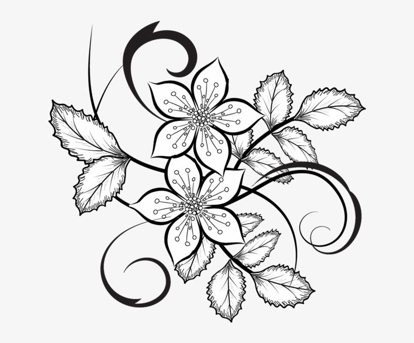 Flowers Vector Png Flora Pattern Pinterest Patterns - Flower