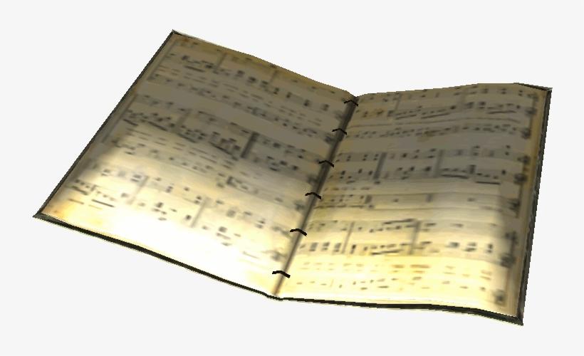 Sheet Music Book - Music Book Png, transparent png #520879