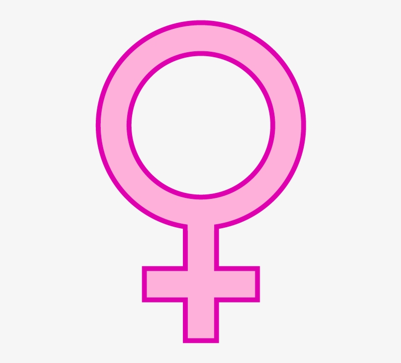 Female - Female Symbol Pink Png, transparent png #521162