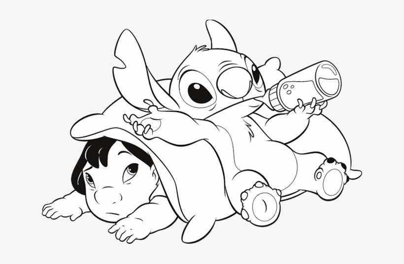 Drawing Lilo Stitch 143 Dibujos De Lilo Y Stitch Para Dibujar