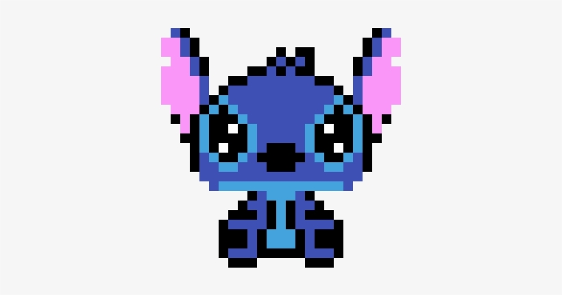 Stitch Pixel Art Disney Stitch Free Transparent Png