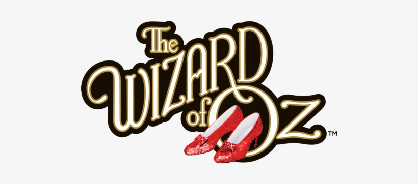 The Wizard Of Oz Logo Png Svg Royalty Free Stock - Wizard Of Oz Title, transparent png #522760