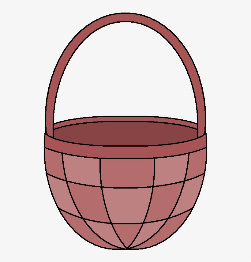 Empty Easter Basket Png Image - Empty Easter Basket Clipart, transparent png #523199