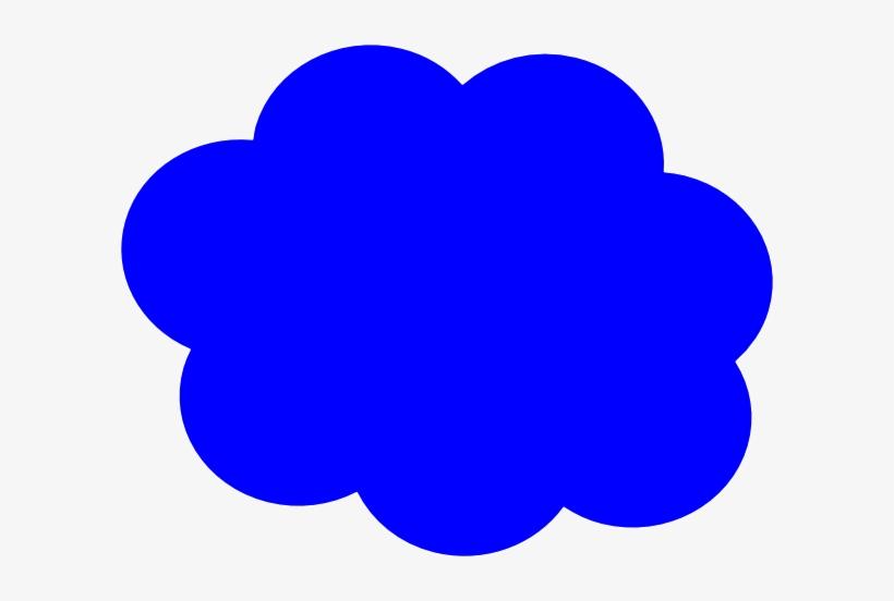 Outline Of Cloud Clipart Image - Blue Clouds Clip Art, transparent png #525464