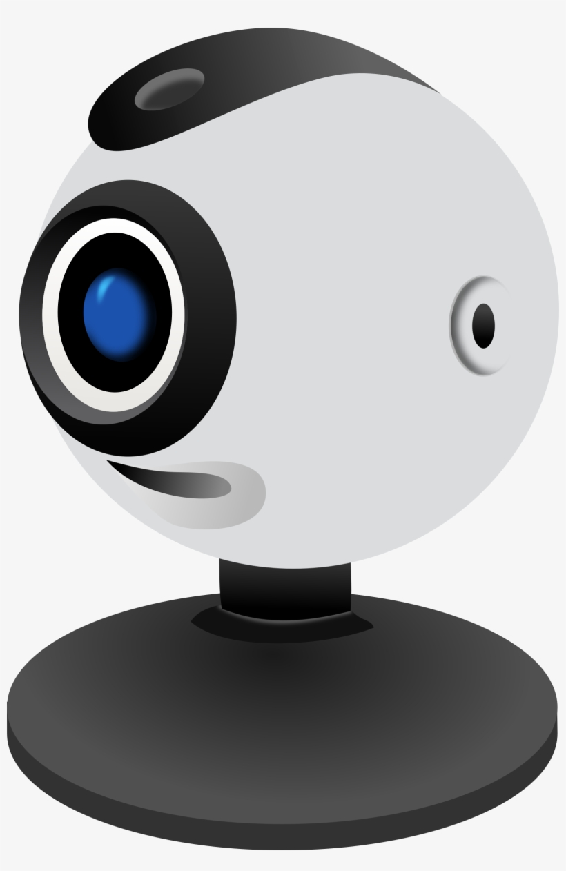 Web Camera Png Background Image - Camara De Video Chat, transparent png #525502