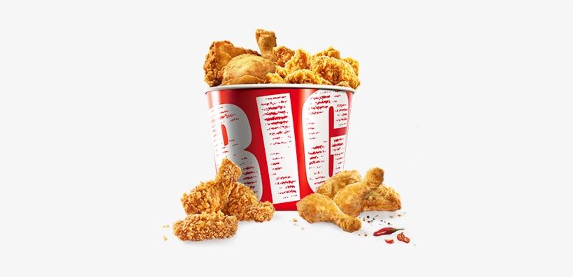 Kfc Chicken Bucket Png Download - Crispy Fried Chicken, transparent png #526415