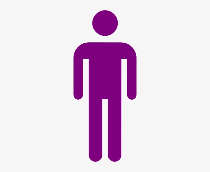 Free Purple People Cliparts, Download Free Clip Art, - Colored Stick Figure Png, transparent png #526648