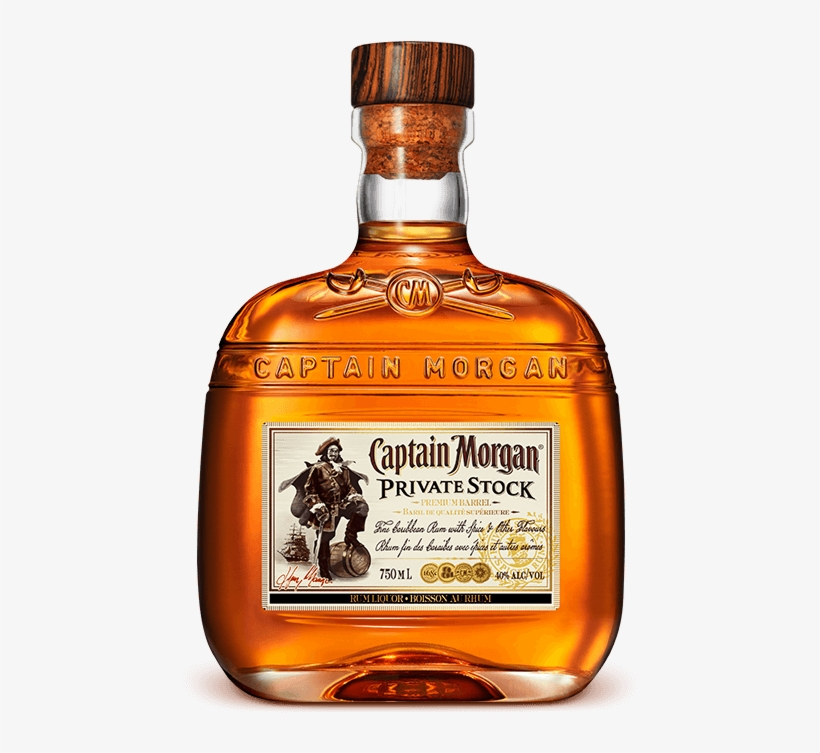 Captain Morgan Private Stock - Captain Morgan Private Stock Liquor, transparent png #527053
