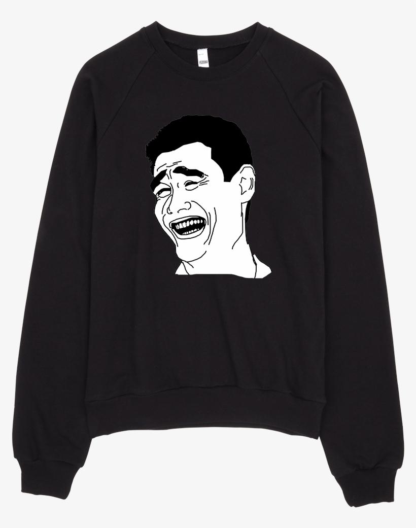 Yao Ming Sweatshirt - Yao Ming Bitch Please Rage Comic Meme Mask By Rapmasks, transparent png #527839