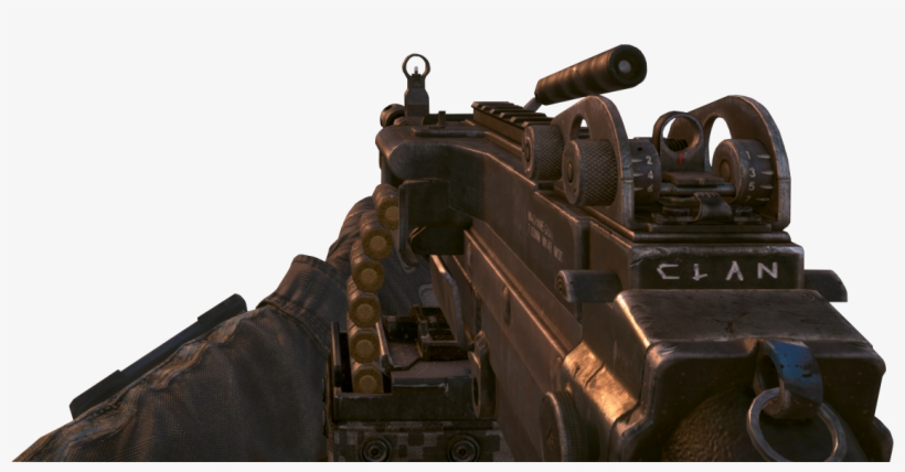 Mk 48 Clan Tag Carved Onto Weapon Boii - Target Finder Call Of Duty Black Ops 2, transparent png #527926