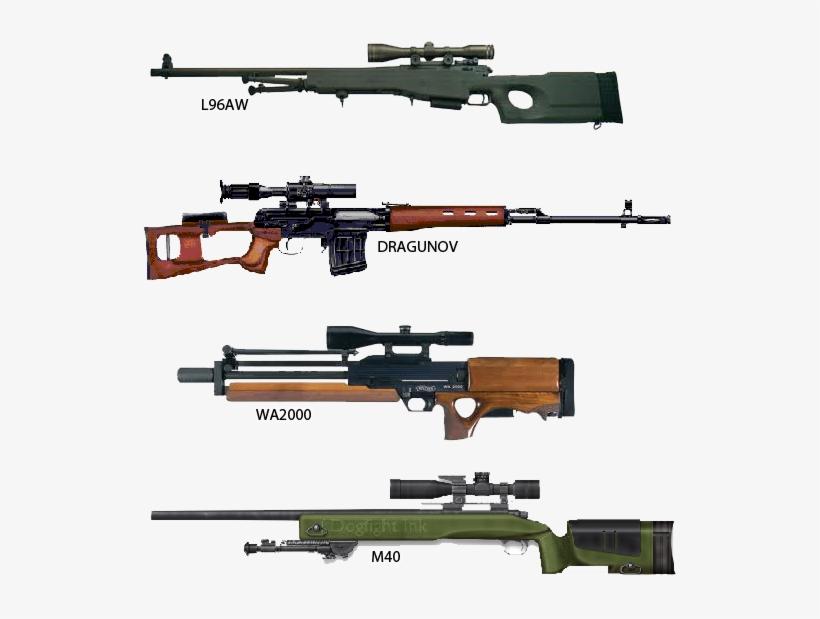 Картинки снайперских винтовок и их названия