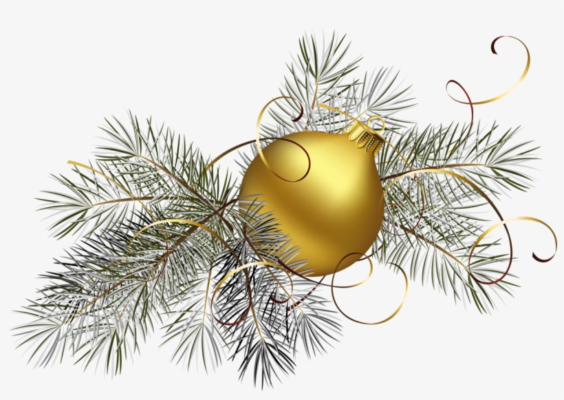 Elegant Christmas Wreaths Png - Gold Christmas Transparent Background, transparent png #528577
