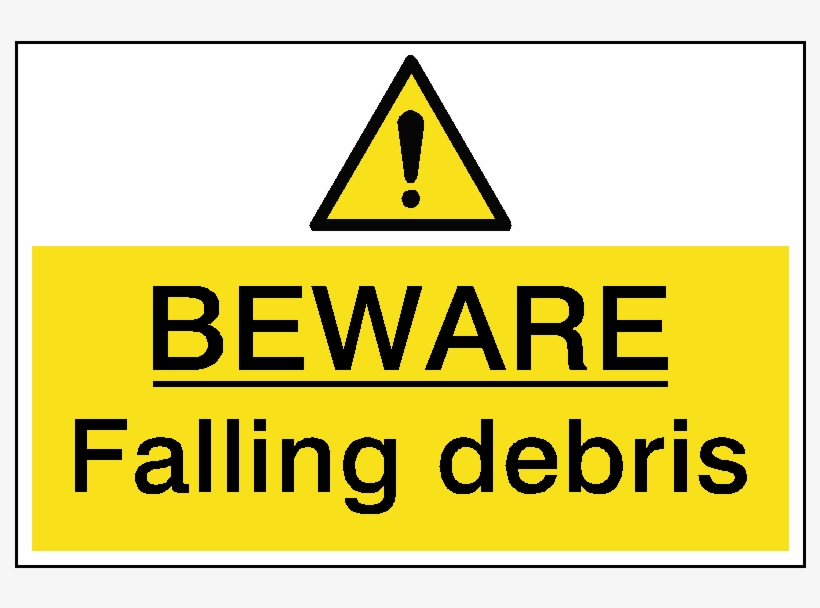 Danger Deep Water Hazard Sign - Construction Site Keep Out, transparent png #528743