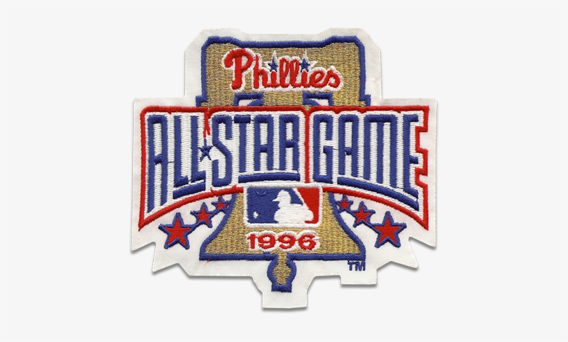 Philadelphia Phillies - Sports Logo - Patch - Patches - All Star Game Mlb Philadelphia, transparent png #529132