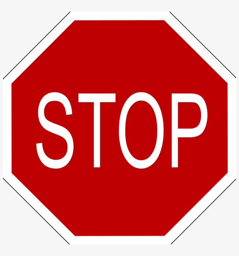 Stop Sign Photo - Stop Sign Clipart, transparent png #5203080