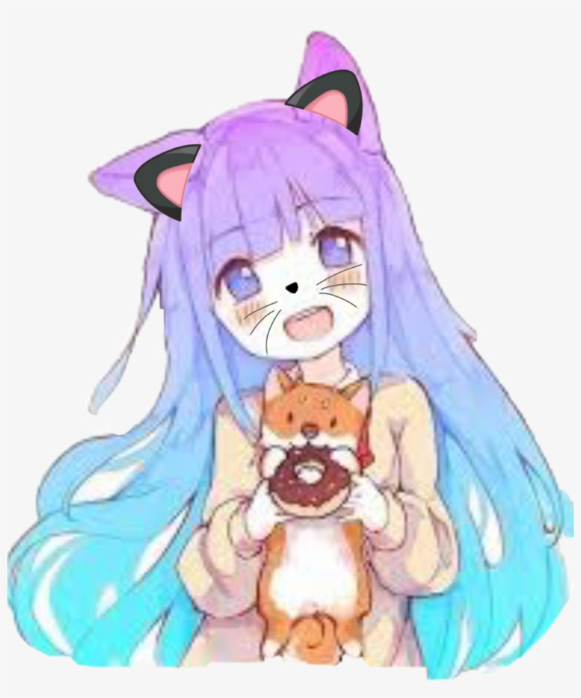 Kawaiigirl Kawaii Anime Meifwa Corgi Cuteness Fangirl - Kawaii Cute Anime Girl, transparent png #5213784