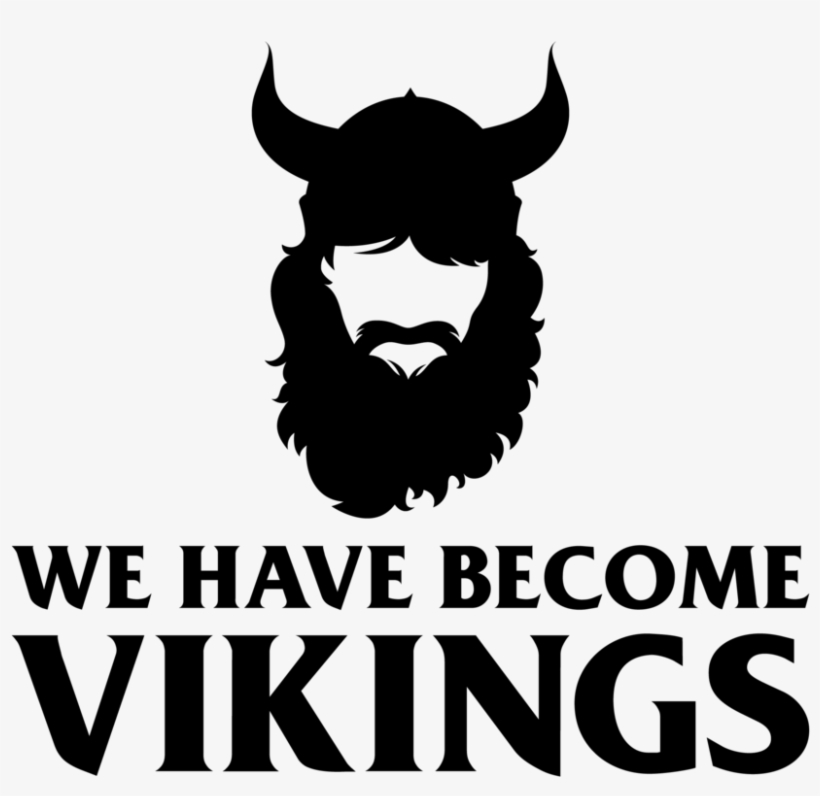 Whbv Black-01 - We Have Become Vikings, transparent png #5218559