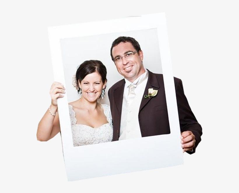 Polaroid Prop - Polaroid Frame Photobooth, transparent png #5234308