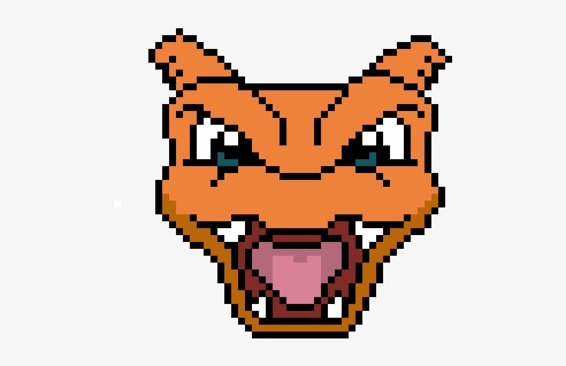 Charizard Pokemon Pixel Free Transparent Png Download
