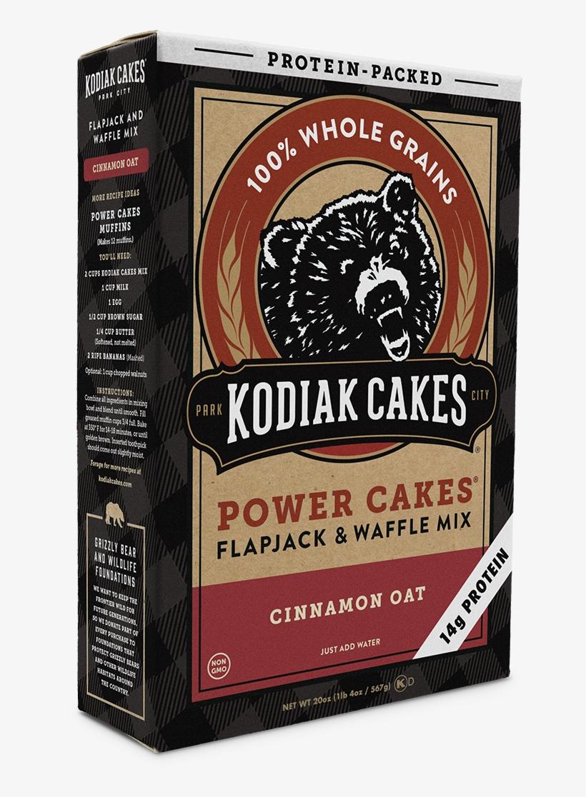 Kodiak Cakes Power Cakes, Cinnamon Oat Pancake And - Kodiak Cakes Cinnamon Oat, transparent png #5245919