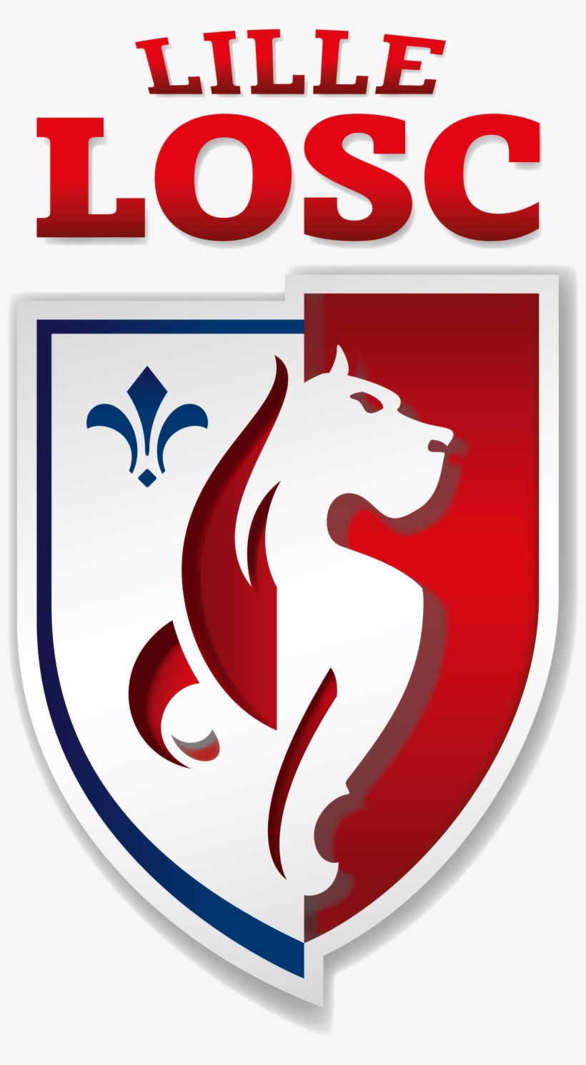 Arrive A Lille En Provenance Du Paris Saint Germain Losc Lille New Logo Free Transparent Png Download Pngkey