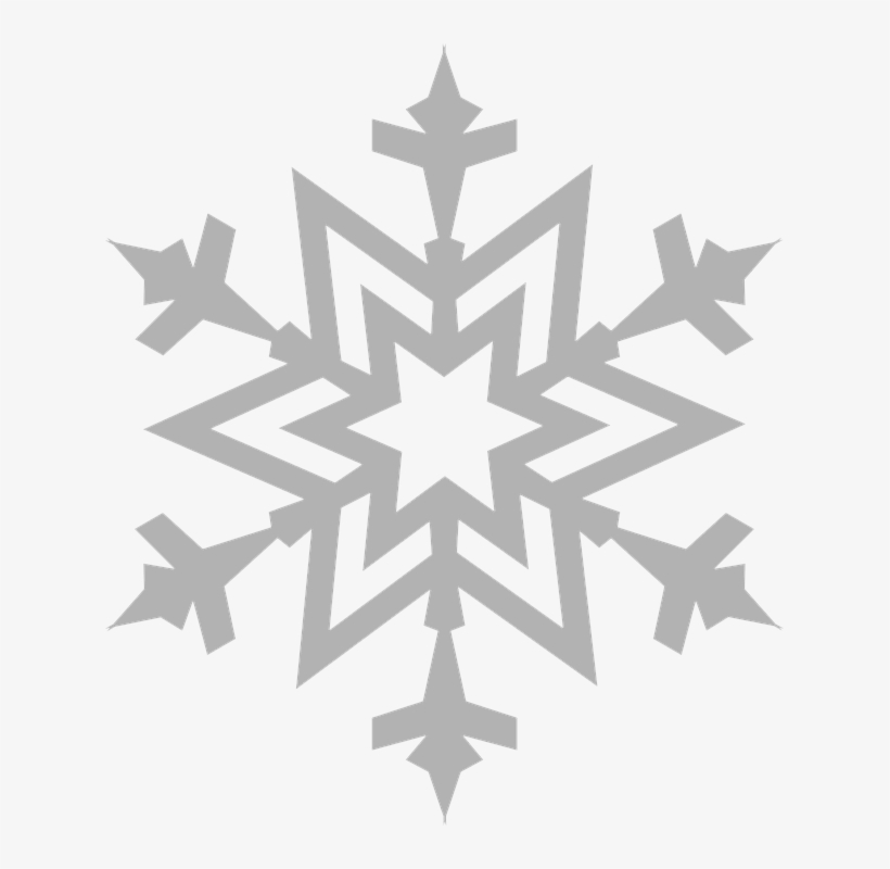 Snowflake Outline, transparent png #5250174