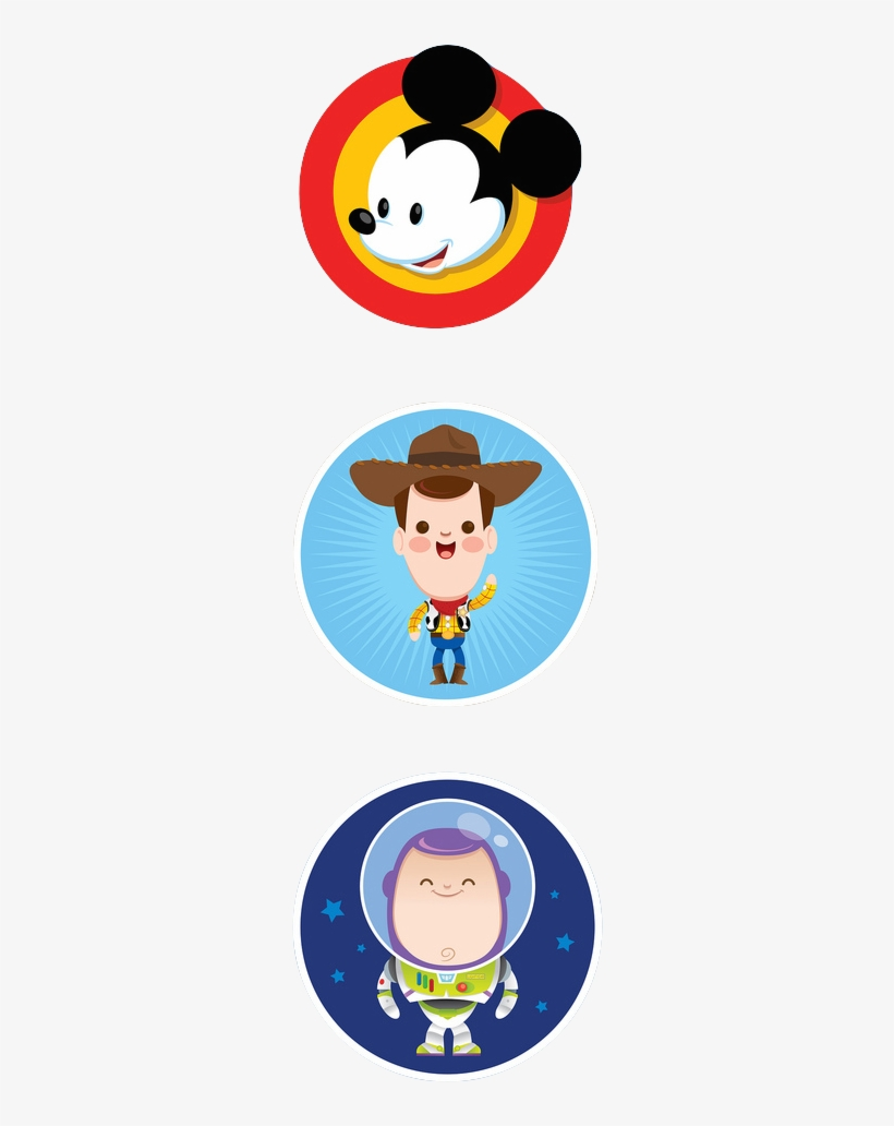 Mickey Woody Buzz Toy Story Free Transparent Png Download