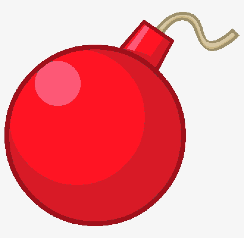 Cherry Bomb Asset - Bfb Bandaged Bomby - Free Transparent