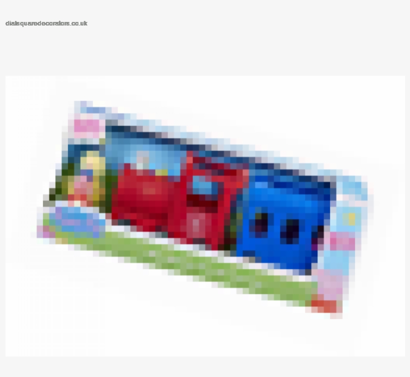 Peppa Pig Grandpa Pig's Train And Carriage - Peppa Pig Miss Rabbit's Train And Carriage Playset, transparent png #5259421