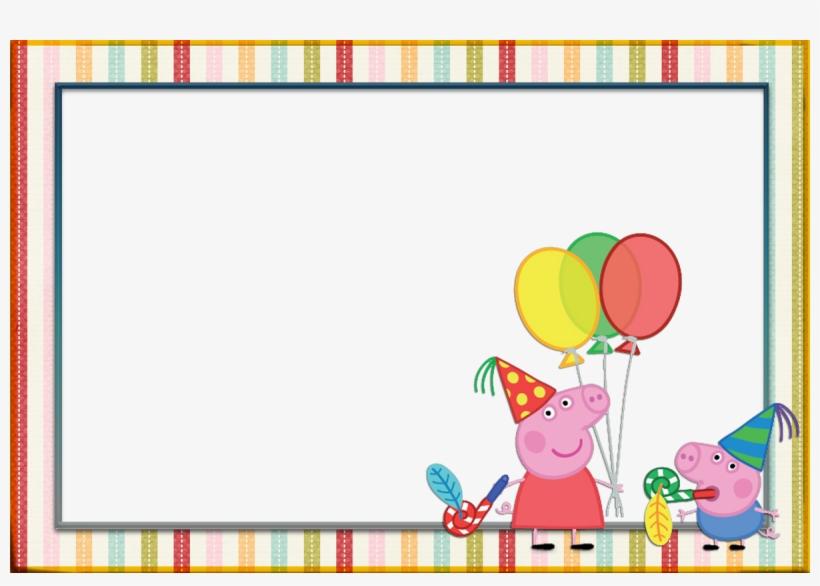 Vectores Para Cumpleaños - Peppa Pig Birthday Clipart, transparent png #5259429
