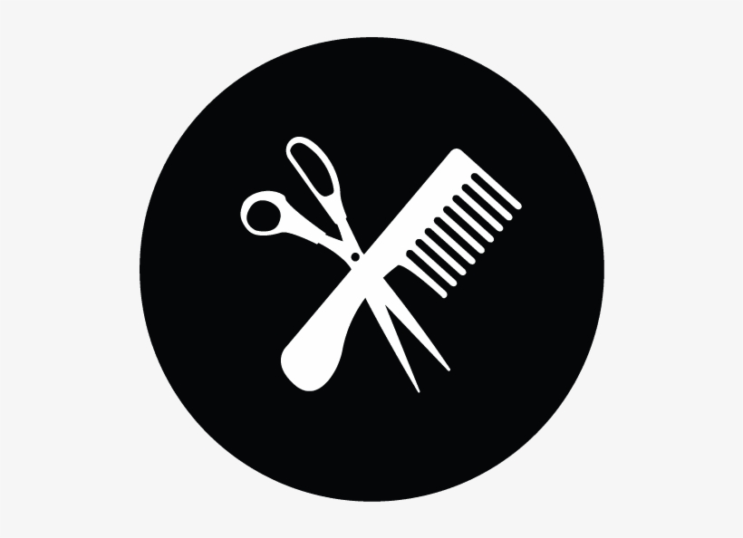 Hair Salon Haircuts Icon - Secondary School Icons, transparent png #5259701