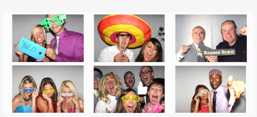 Assorted Photo Booth Pics With Popular - Collage, transparent png #5264349