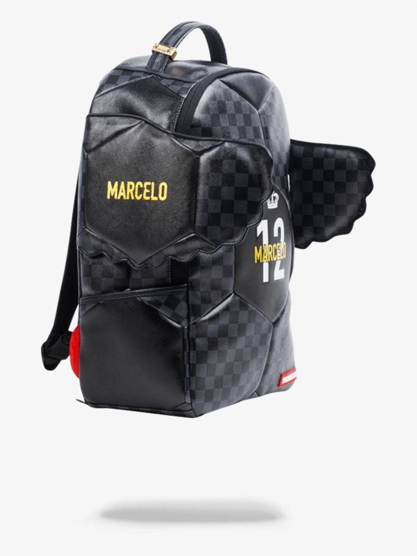 Sprayground- Marcelo Soccer King Backpack - Sprayground Marcelo Backpack, transparent png #5266674
