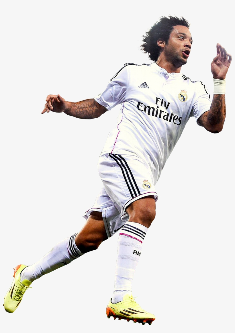Marcelo Render - Marcelo Real Madrid Png, transparent png #5267388