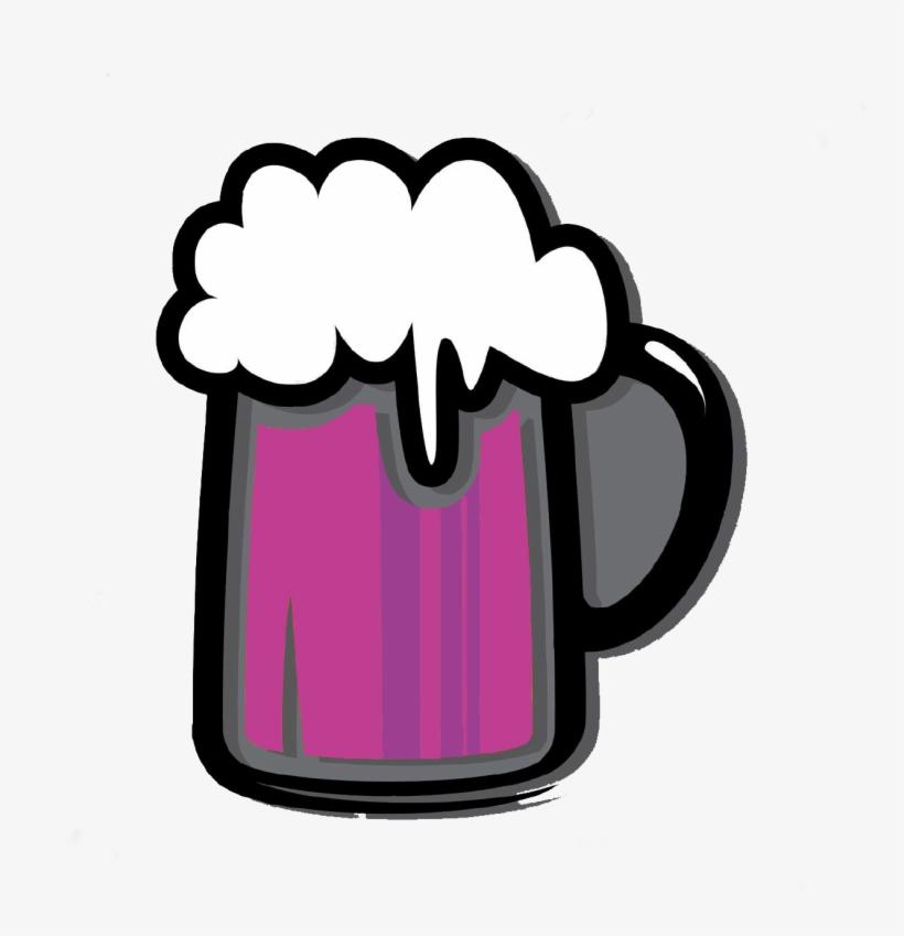 Beer Mug Icon Png For Kids - Beer Mug Beer Silhouette, transparent png #5294938