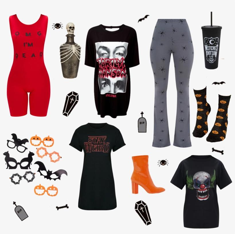 Halloween Wishlist - Halloween Themed Funglasses - Pumpkin Party, transparent png #5295303