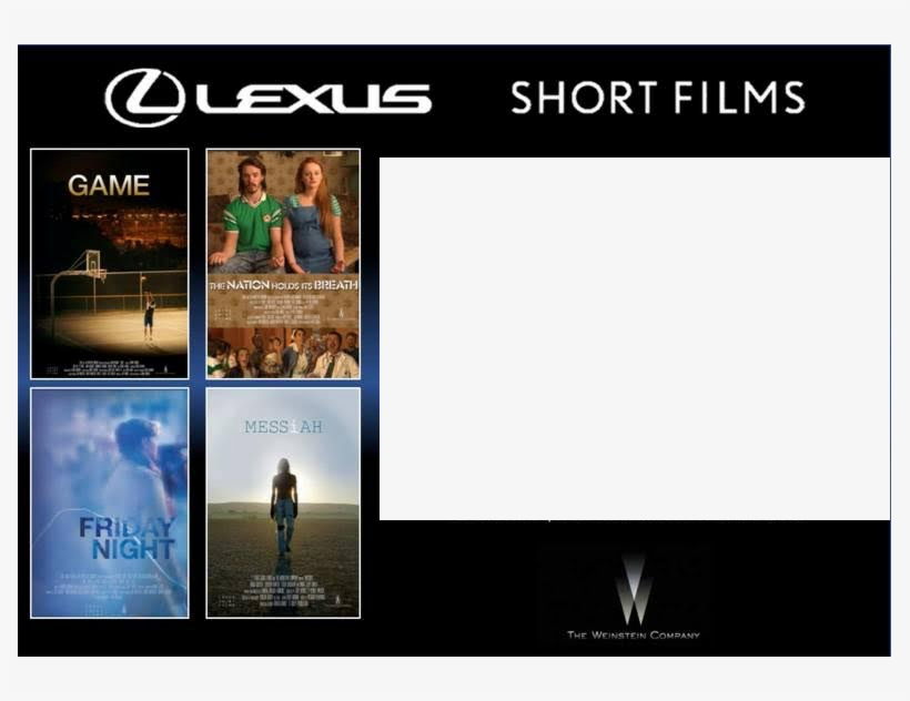 Lexus Short Films Season 3 Hits An Intriguing Home - Nation Holds Its Breath, transparent png #5298567