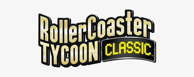 Rollercoaster Tycoon Classic Logo - Free Transparent PNG Download