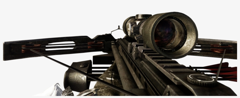 Crossbow Variable Zoom Bo - Call Of Duty Black Ops Crossbow, transparent png #530632