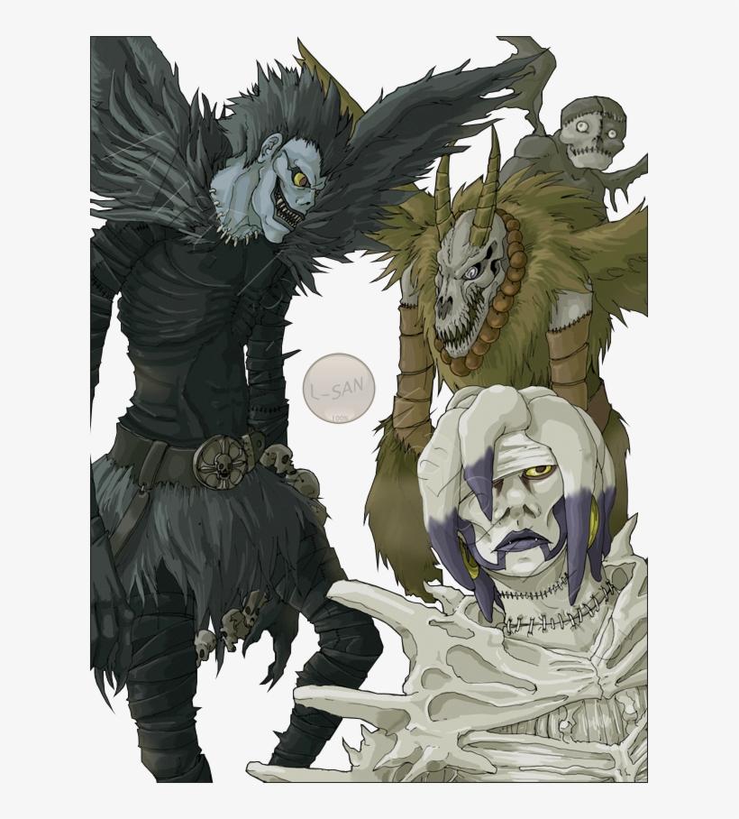 Gukku - Shinigami Death Note, transparent png #531766