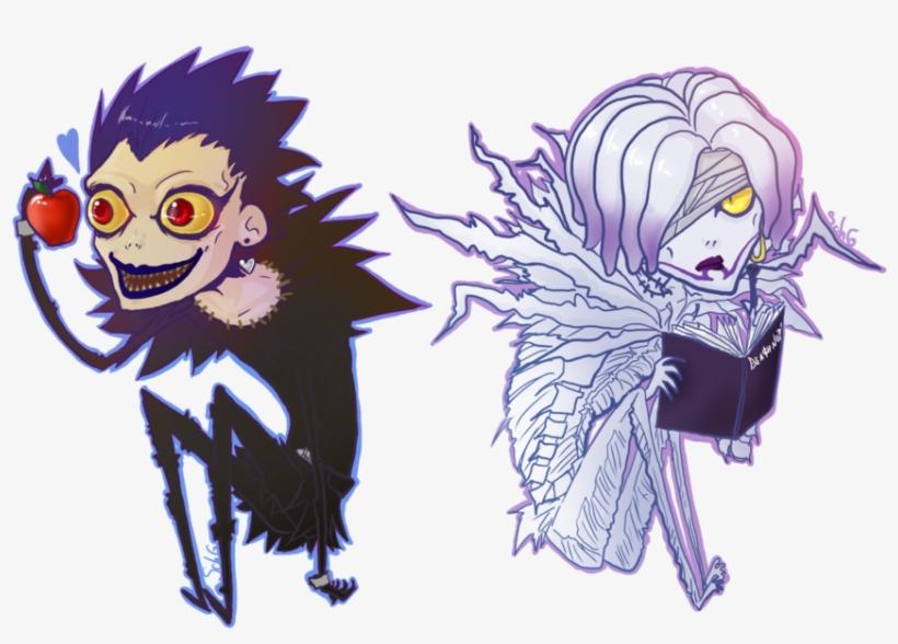 Death Note Ryuk And Rem Chibi Rem Ryuk Free