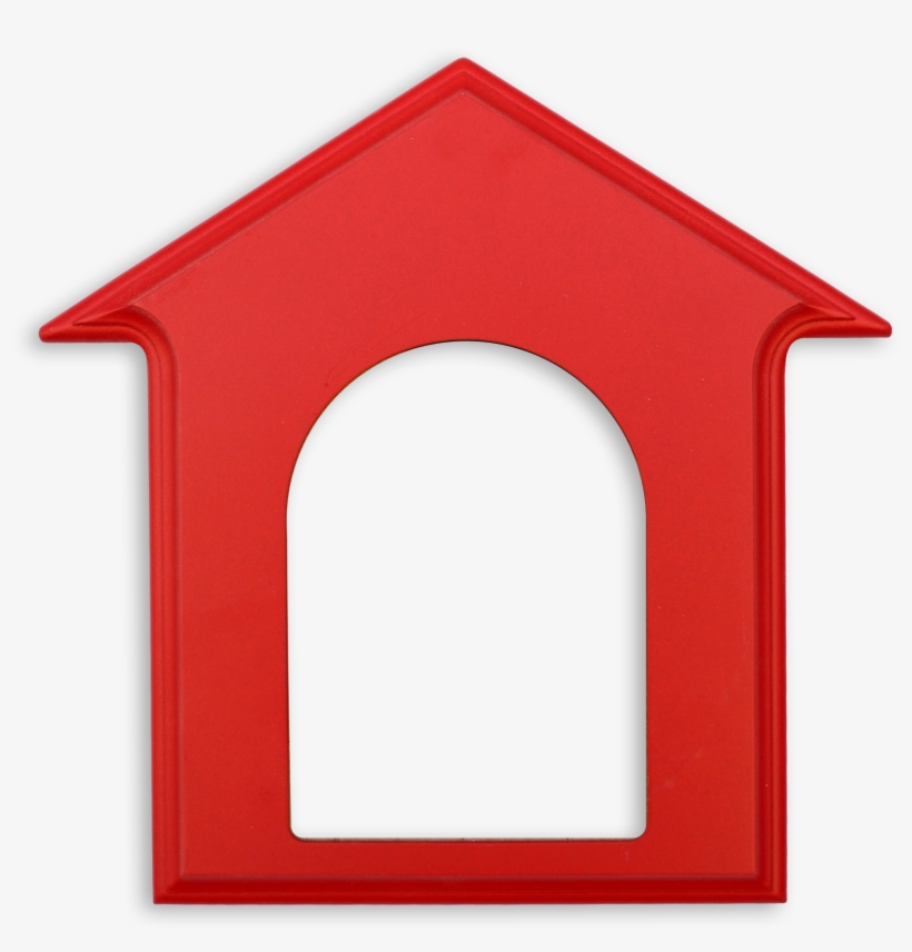 28 Collection Of A Frame House Clipart - Red Dog House Clipart, transparent png #533444