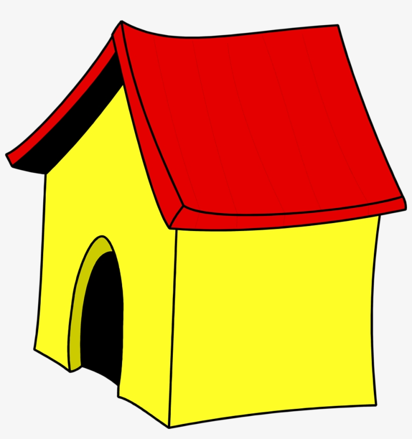 Animated House Png - Dog House Clipart No Background, transparent png #533542