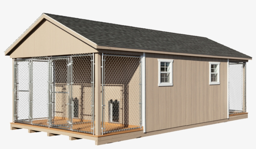 Here At Horizon Structures We Design And Craft Custom - Four Dog Kennels, transparent png #533817