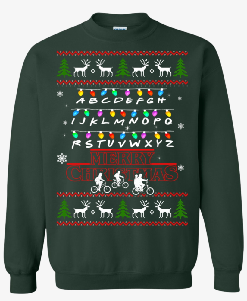 Stranger Things Merry Christmas Ugly Sweater Overwatch Ugly