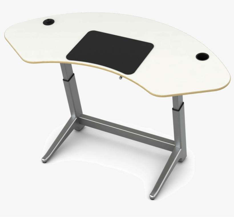 For Standing Desk Elevated Office Desks Ergonomic Adjustable - Focal Upright Furniture Focal-sp Focal Sphere Desk, transparent png #537287