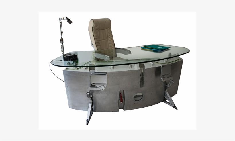 Boeing 737 Aircraft Door Designer Office Desk - Furniture, transparent png #537333