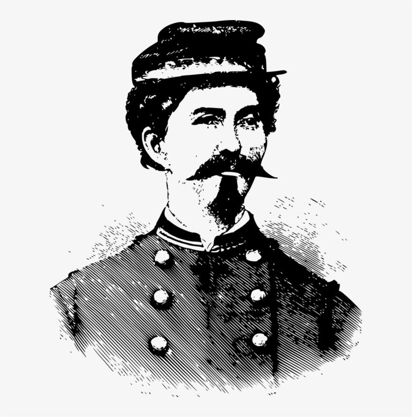 American Civil War American Revolutionary War Tomb - Civil War Soldier Goatee, transparent png #538935
